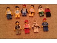 LEGO FIGURES FROM THE 1990's