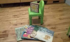 Bundle of kids toys and books