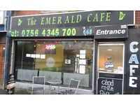 Well established cafe for sale with excellent turnover