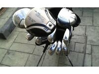 Golf Package Set (New) Woods/Irons/Putter/Stand Bag/Balls/Tees. Golfsmith Snake Eyes. Great Quality.