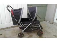 Double buggy/pram 'Safety 1st'