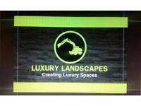 Block paving , landscaping , artificial grass , slabbing , drive ways
