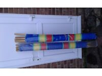 Two windbreaks for sale. Used once.