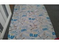 Olaf (Disney frozen) single duvet cover and pillow case