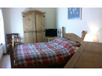 Corona solid pine double bed and Bedroom suite