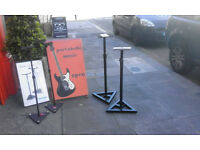 Studio monitor stands x 4 Samson MS100