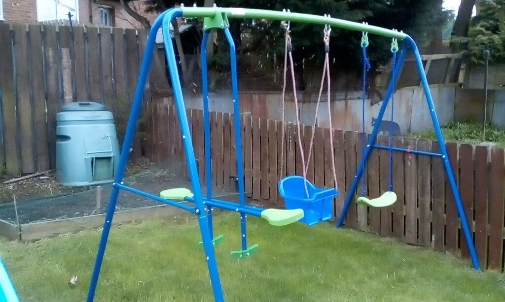 Childs Outdoor Swing Seesaw Very Good Condition Will