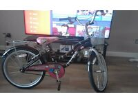 Girls age 7 plus bike in mint condition
