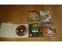 5 Playstation 3 Games plus Game gift card