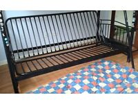 Bunk bed and double fold out bed