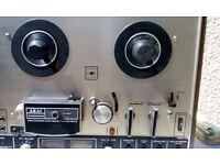 Akai 4000DS reel to reel working/recorder