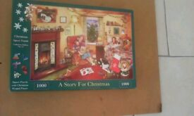 A story for Christmas 1,000 piece jigsaw puzzle