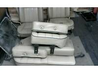 Land Rover discovery leather seats