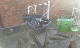 x2 chainsaws spares or repairs