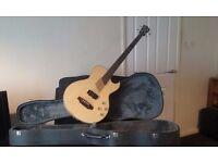 Washburn Electric Blonde Accustic Bass