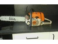 Stihl ms 260 petrol chainsaw