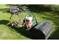Webb Petrol cylinder mower