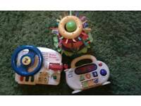 Electronic baby toys