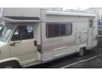 2 berth diesel fiat ducato moterhome new mot 61000 miles verry clean for year must be seen.