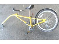 TRAILBLAZER TAG ALONG BIKE SINGLE SPEED 20 INCH WHEEL AVAILABLE FOR SALE