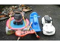 Mixed garden toys for the kids