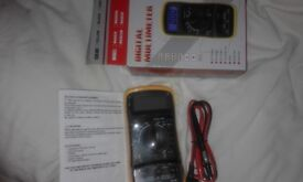 LCD Digital Multimeter Voltmeter AC DC Voltage Tester Circuit Checker