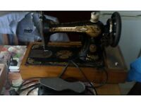 Sewing machines Antique Singer sewing machine and bernette sewing machine