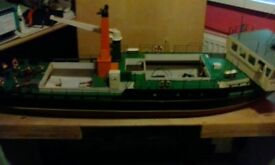 model boat for sale good condition looks great on the waterworking lights radio included