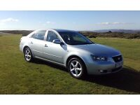 HYUNDAI SONATA 2006,2.4 petrol automatic,leather