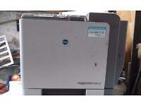 Konica Minolta Magicolor 5550 printer for sale
