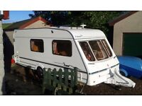Swift 4 berth caravan. Fantastic condition with full awning and all accessories.