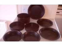 BAKING TINS (11 items)- used