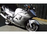 Honda CBR 1100xx Super Blackbird Givi Luggage