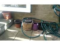 Plastic and pot plant pots - FREE