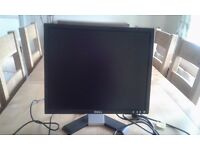"19"" Dell flat screen monitor"