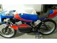 1968 Yamaha YAS 1 racing track bike