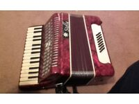 Well used and loved accordian