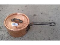 Vintage French Copper Pan