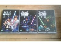Digitally remastered special edition star wars dvds