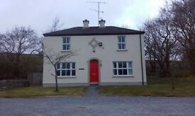 3 bedroom house to let in Cranagh, Plumbridge, Omagh, Co. Tyrone. Minimum 6 month contract. OFCH.