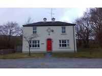 3 bedroom house to let in Cranagh, Plumbridge. Minimum 6 month contract. OFCH.