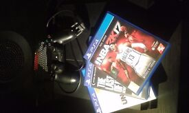 PS4 500GB +4games Excellent quality