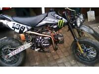 Road leagal xsport pit bike mot till end of month