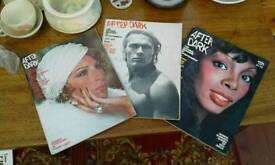 """NO TEXTS PLEASE """"AFTER DARK"""" MAGAZINES. July 73...April 75...77 editions. £4 Or £10 for 3"""