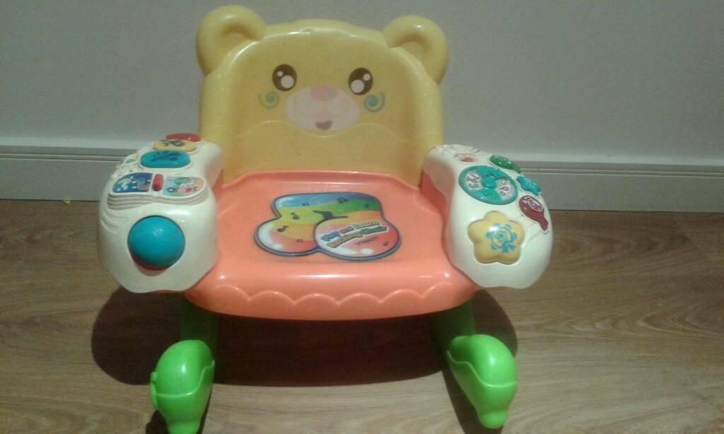 Vtech play and learn rocking chair.