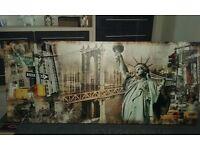 Large New York Canvas