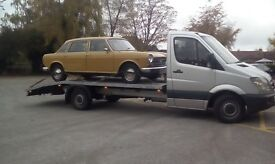 Delivery service transportation cars vans recovery Scotland England all UK