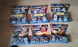 24 unopened Lego Dimensions packs.