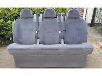 2003 Ford Transit Tourneo folding rear bench seat