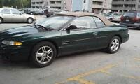 Selling. Chrysler Sebring convertible 1997